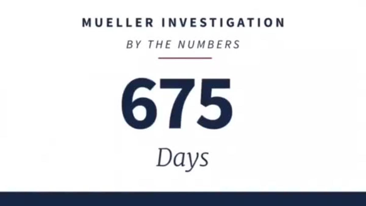 Trump se ríe de las conclusiones del informe Mueller