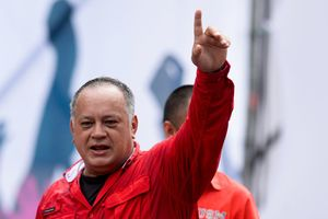 Diosdado Cabello, líder del Partido Socialista Unido de Venezuela (PSUV).