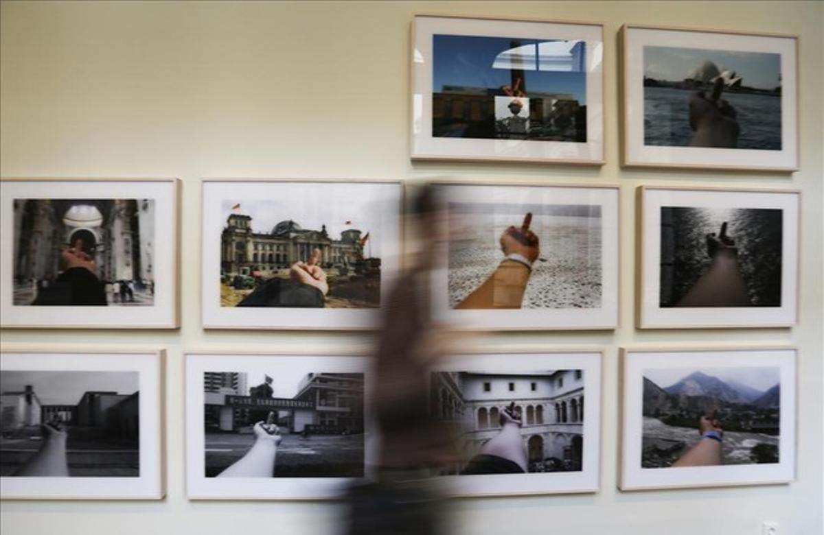 Detalle de la exposición 'On the Table. Ai Weiwei', en La Virreina.