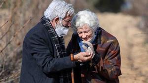 Antonio (Imanol Arias) y Mercedes (Ana Duato) de ancianos en la nueva temporada de 'Cuéntame cómo pasó'.