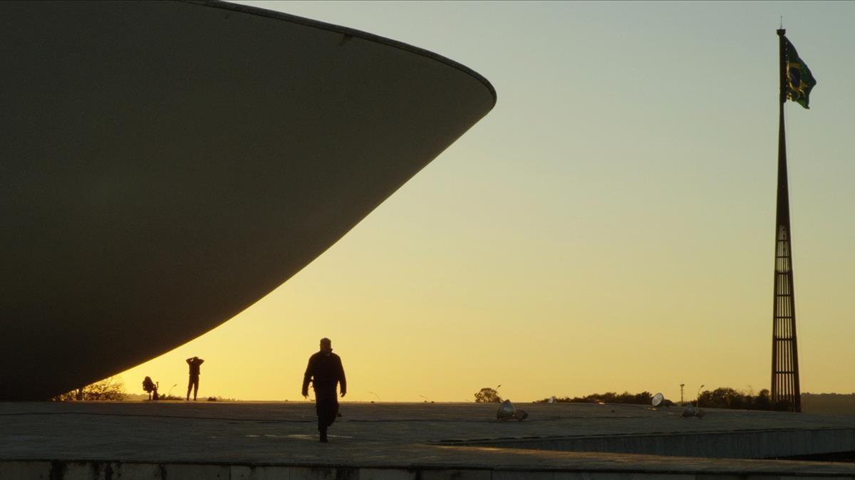 Un fotograma de 'A machine to live in', o sea, Brasilia, el fracaso del éxito más espectacular del mundo.
