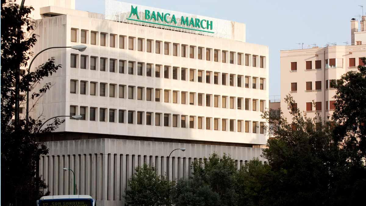 Sede central de Banca March en Palma de Mallorca, en una imagen de archivo.