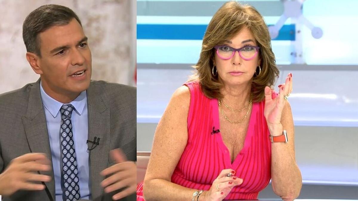Ana Rosa critica a Sánchez