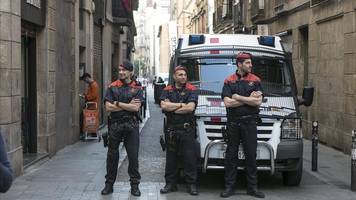 Imagen de archivo de la barcelonesa calle Joaquim Costa.