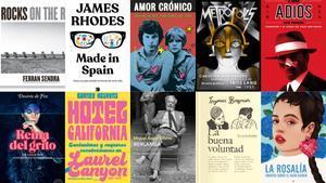 Cine i música: 15 llibres recomanats per a Sant Jordi 2021