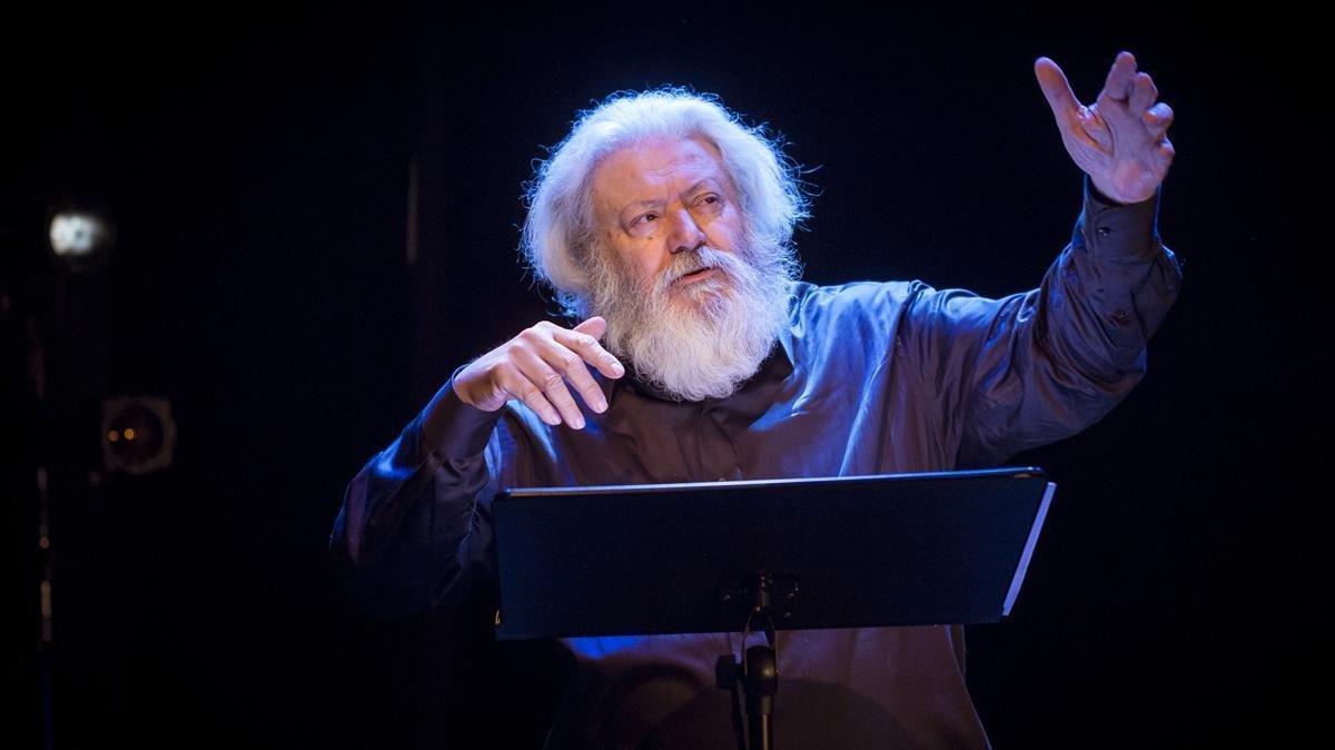 El actor y director Mario Gas hará doblete en el Teatre Akadèmia esta temporada.