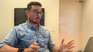 Juan Ramon Ruiz, joven empresario que ha visto denegada la peticion de credito ICO.