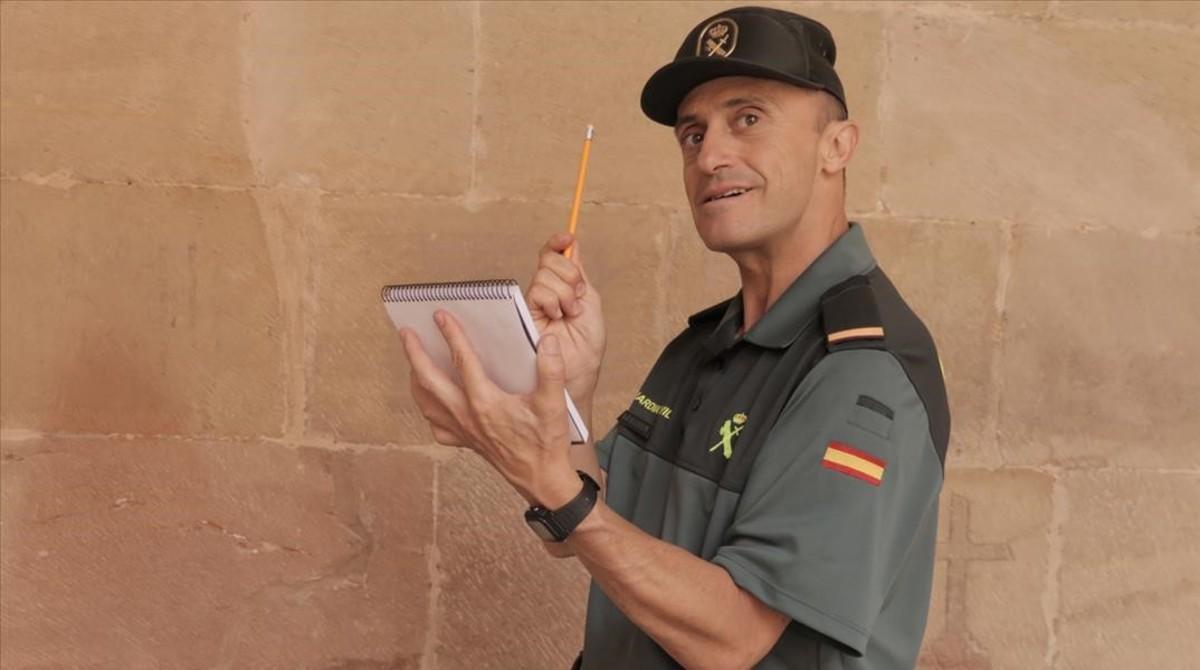 Pepe Viyuela, en la serie 'Olmos y Robles'.