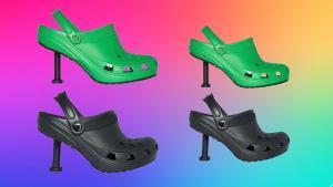 Las Crocs 'stiletto' de Balenciaga, la última provocación de Demna Gvasalia.