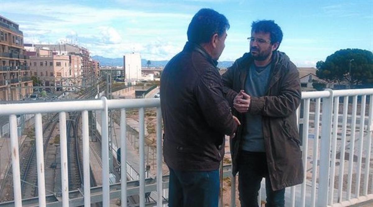 Jordi Évole habla con Jorge Álvarez, maquinista de los Ferrocarrils de la Generalitat Valenciana.