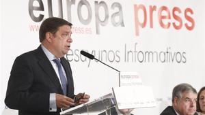 Luis Planas en Los Desayunos Informativos de Europa Press.