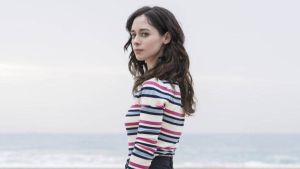 Elena Rivera, en la serie 'Alba'.
