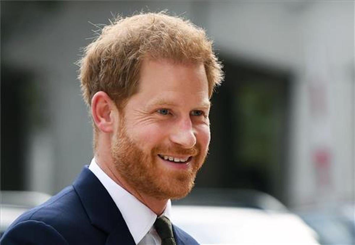 El príncipe Harry de Inglaterra, duque de Sussex en Londres. Efe - Andy Rain