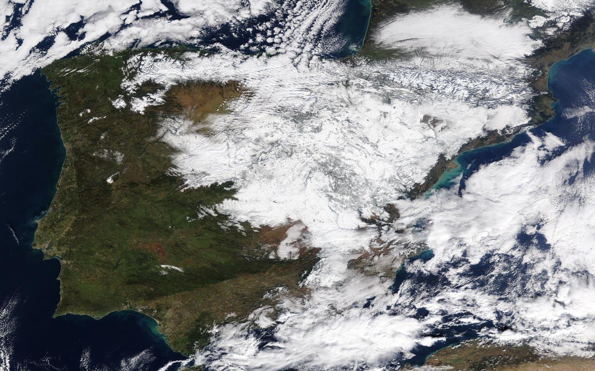 Catalunya activa l'alerta per onada de fred intens fins dijous