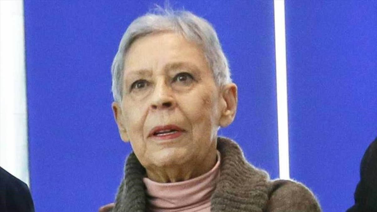 La pintora realista Isabel Quintanilla.