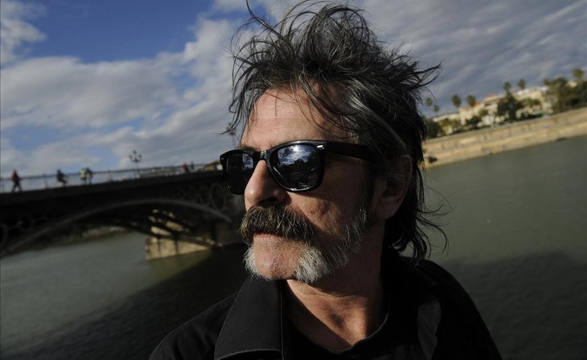 El crítico Oriol Llopis, en Sevilla.