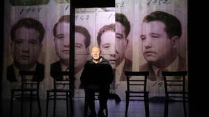 Ensayo del proyecto de teatro colaborativo 'Dale recuerdos XXX'.