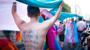 Manifestación del Orgullo LGTBIQA+ en Valencia,el 29 de junio de 2019, la última antes de la pandemia.