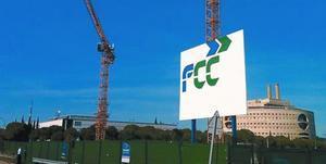 Obras de la constructora FCC en los alrededores de la Cartuja de Sevilla.