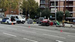 Accidente en Via Augusta con Angel Guimarà