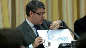 El ministro de Energía, Álvaro Nadal, el pasado enero en el Congreso.