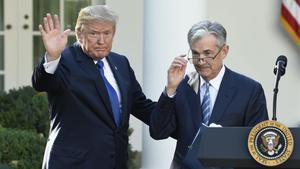 Trump con Powell.