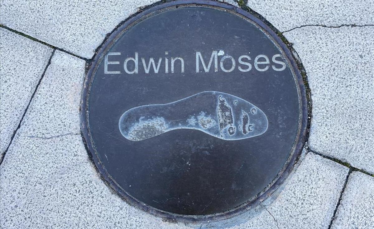 El pie de Edwin Moses, formidable en los 400 metros vallas y medallista incluso en bobsleigh.
