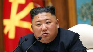 El líder de Corea del Norte, Kim Jong-un, en una reunión del Partido de los Trabajadores.