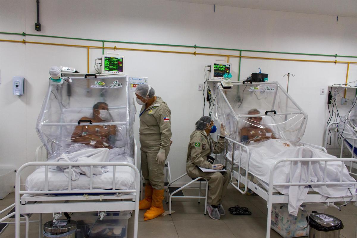 El Brasil confirma la circulació d'una nova variant del coronavirus a l'Amazones