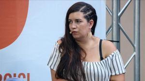 La activista de los CDR Tamara Carrasco.