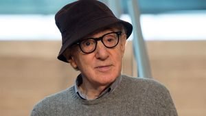 Woody Allen, el pasado 9 de julio en San Sebastián