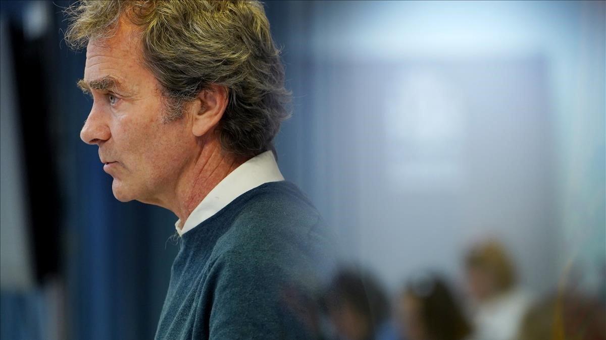 Fernando Simón,director del Centro de Coordinación de Alertas y Emergencias Sanitarias del Ministerio de Sanidad.