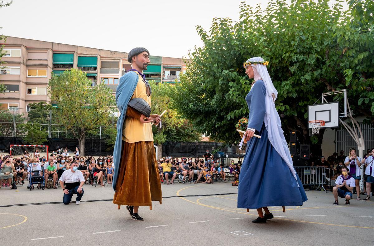 Uno de los actos de la Fiesta Mayor de Mollet 2021.