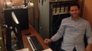 Roger Piqueras, residente en Nueva York y afectado por los problemas que conlleva el voto por correo a los españoles residentes fuera del país