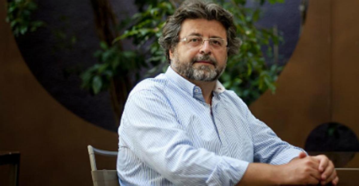 Antoni Castellà, antes de la entrevista, el pasado jueves en un hotel de Barcelona.