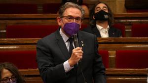 El 'conseller' de Economia i Hisenda, Jaume Giró.