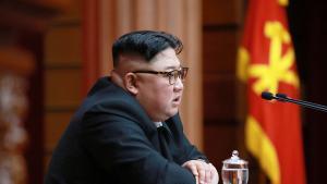 El líder de Corea del Norte, Kim Jong-un. AFP