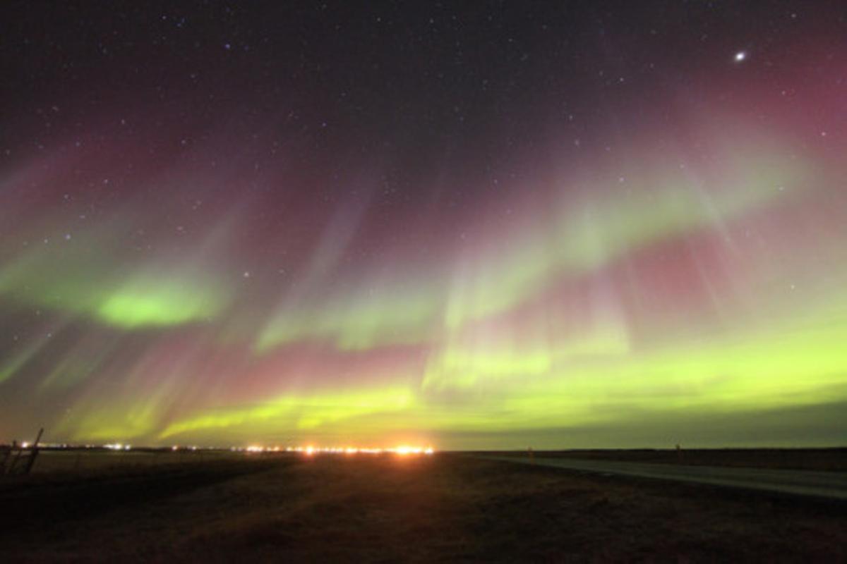 Auroras de marzo de 2015 en Islandia. Foto: Thomas M. Marsella