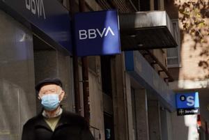 SucursalesdelBBVA y el Sabadell en Madrid.