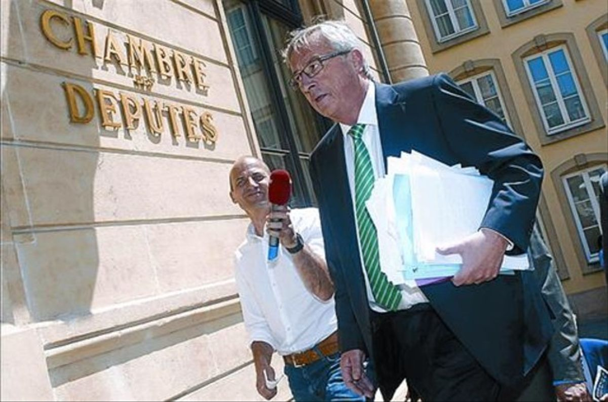 El expresidente del Eurogrupo, Jean-Claude Juncker.
