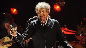 Bob Dylan durante un concierto en Los Ángeles en el 2012.