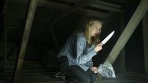 Un fotograma de 'El Hombre Invisible', con Elizabeth Moss.