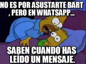 Los Simpsons, también indignados con la actualización del servicio de mensajería.