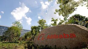 Una imagen de la sede de Alibaba.