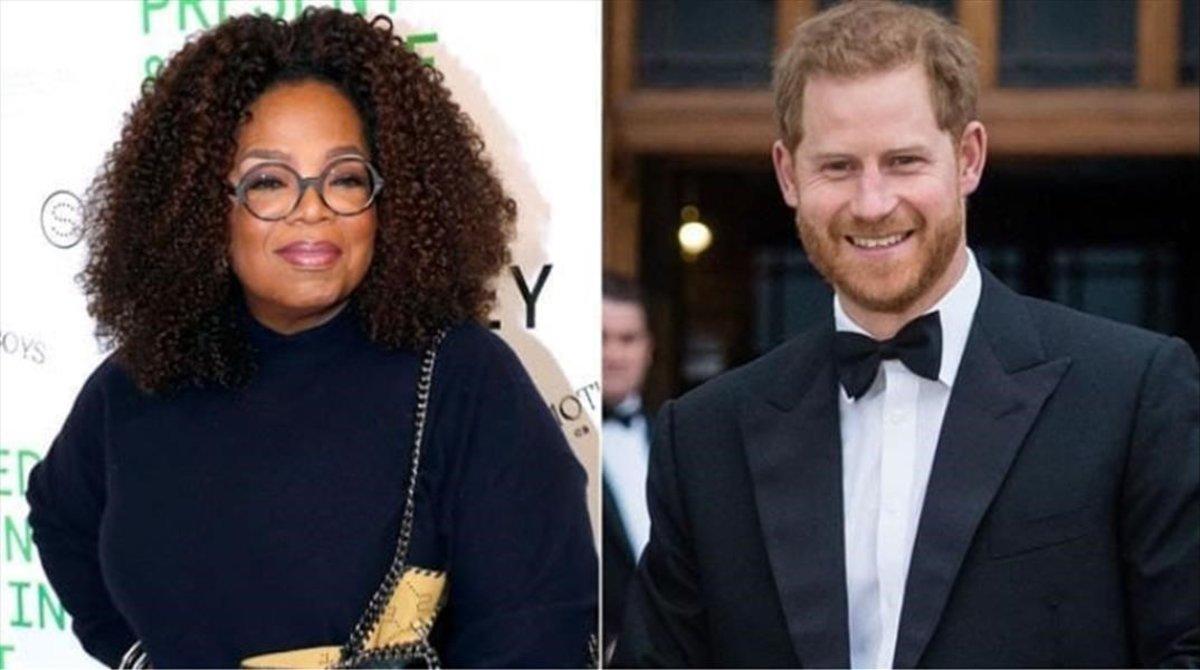 El príncipe Enrique y Oprah Winfrey preparan una serie sobre salud menta.