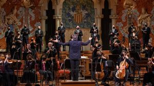 El Cor de Cambra del Palau interpretando 'El Mesías' de Händel.