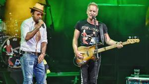 La actuación de Sting & Shaggy fue una de las que agotó entradas enla edición del Cap Roig Festival de este año.