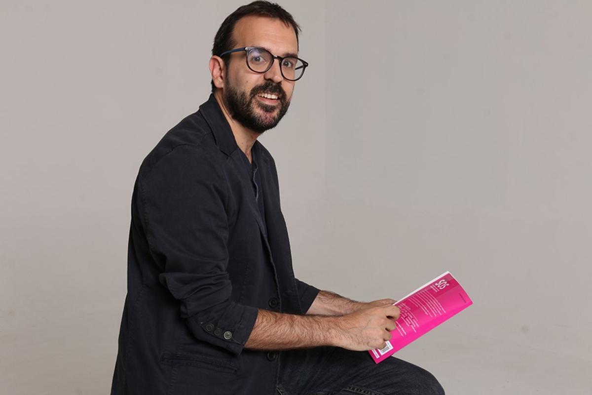 Javier López Menacho, autor del libro 'La farsa de las startups. La cara oculta del mito emprendedor'.