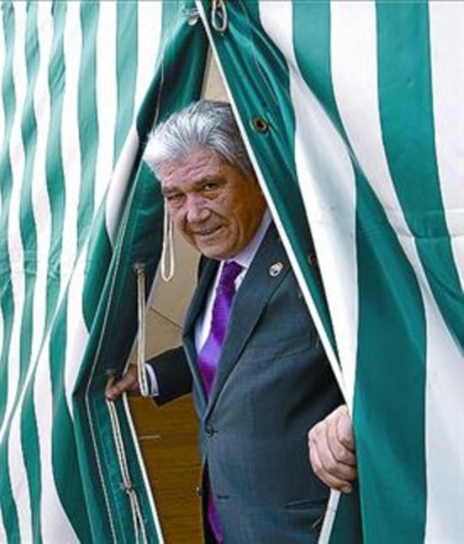Francisco García Prieto, en la feria del 2012.