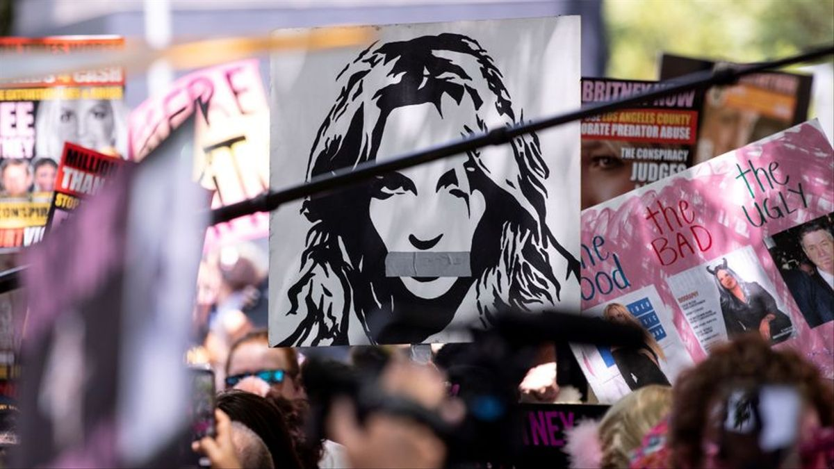 Los fans de Britney Spears reivindican su libertad.